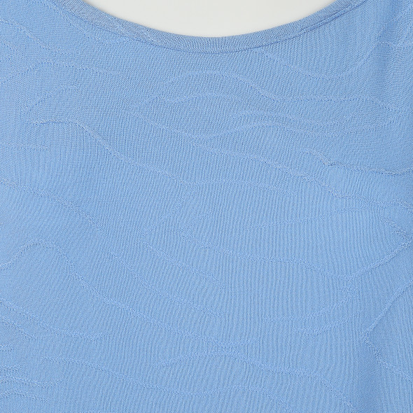 Damen Jaquard Shirt mit leichter Musterung