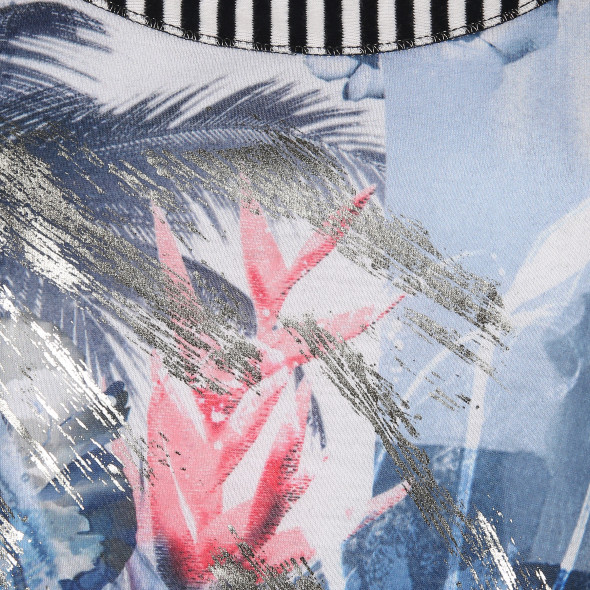 Damen Shirt mit Glitzerprint