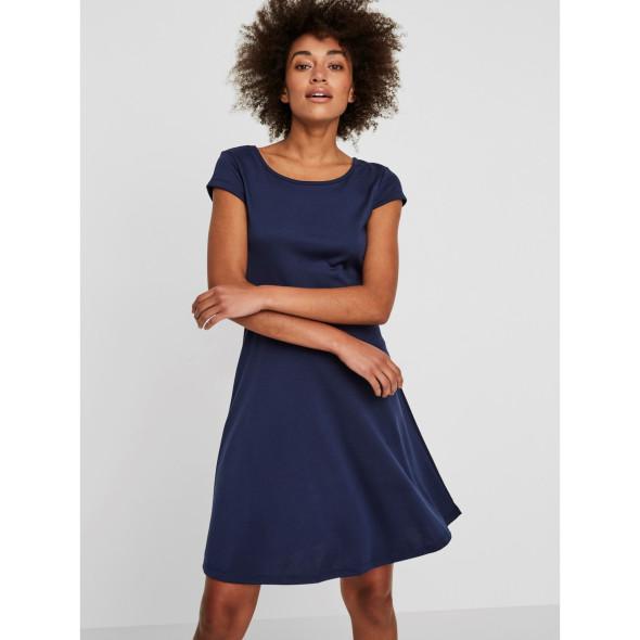 Damen Vero Moda Kleid mit schmalem Gürtel