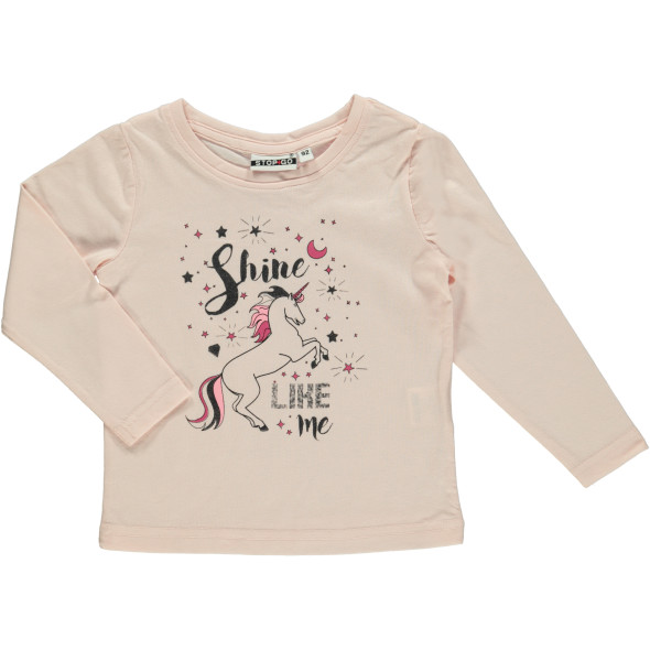 Mädchen Shirt mit langen Ärmeln