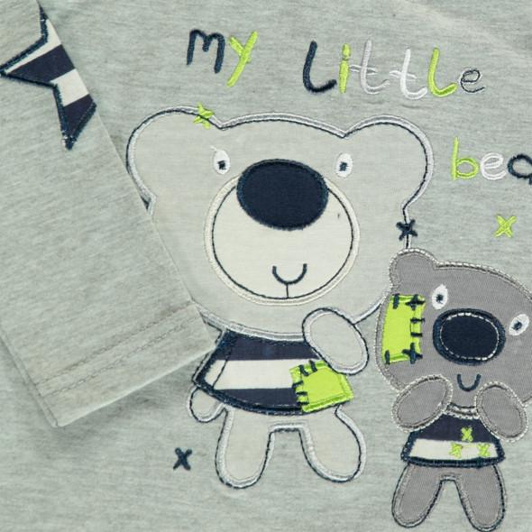 Baby Langarmshirt mit Stickerei