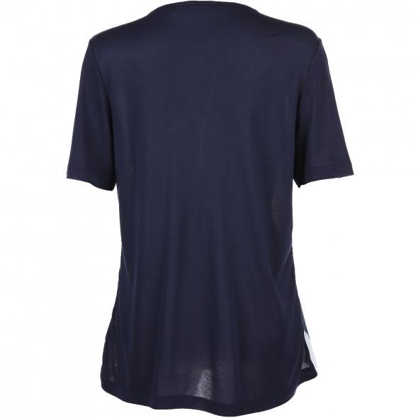 Damen T-Shirt mit Chiffonvorderteil