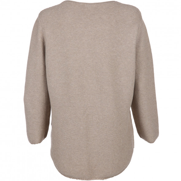 Damen Sweater im Rippmuster