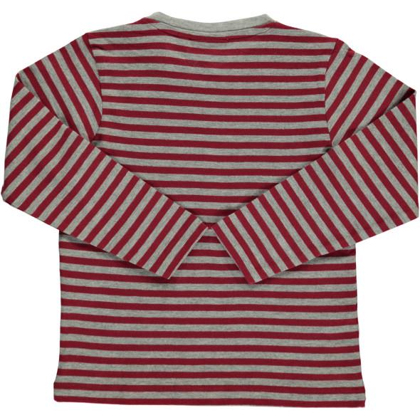 Jungen Shirts im 2er Pack, uni und gestreift