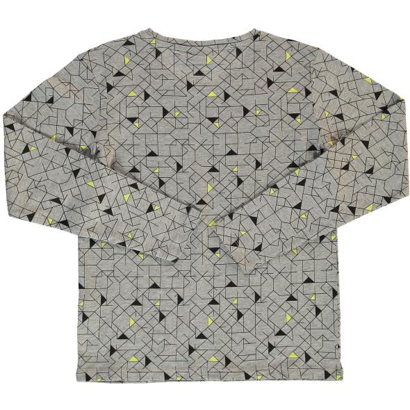 Jungen Shirts im 2er Pack, uni und gemustert