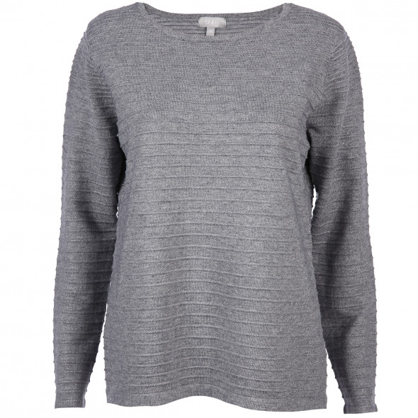 Damen Pullover in Ripp Optik