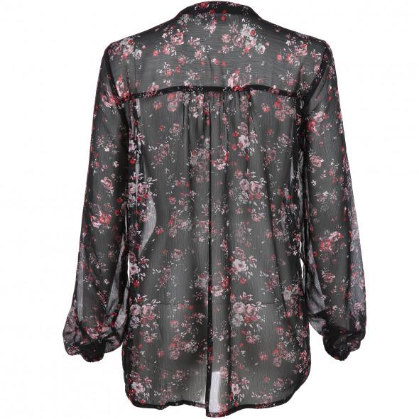 Damen Chiffonbluse mit floralem Muster
