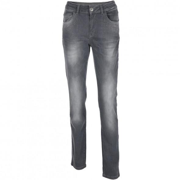 Damen Landhaus Jeans mit Glitzernieten