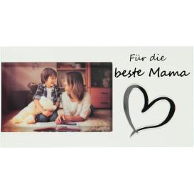 Bilderrahmen -Für die beste Mama- 24x13x1cm
