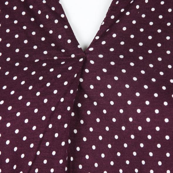 Damen Shirt im Tupfenlook