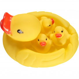 Badespielzeug Entenfamilie 4tlg.