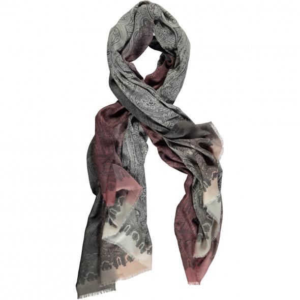 Damen Schal in wunderschönem Paisley Mustermix