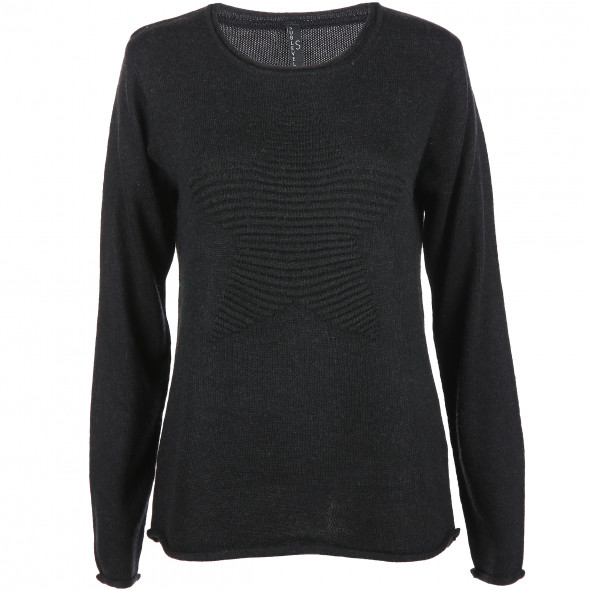 Damen Pullover mit Sternmotiv