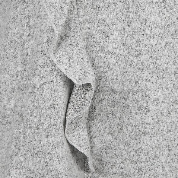 Damen Feinstrick Pullover mit Rüschchen