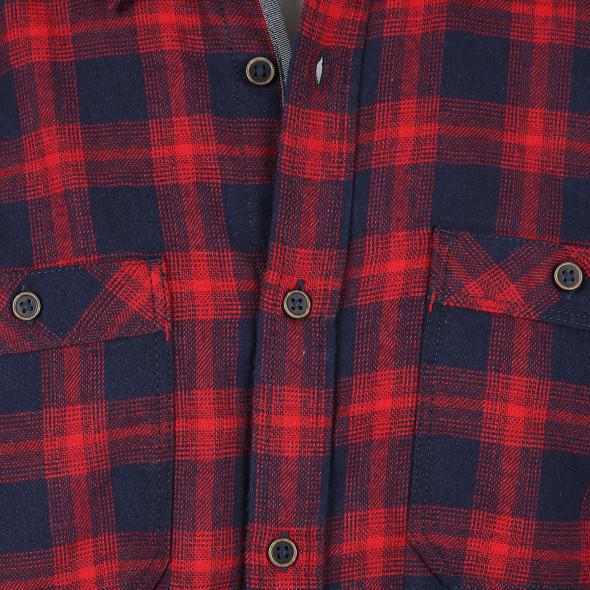 Herren Freizeit Hemd im Karo Look