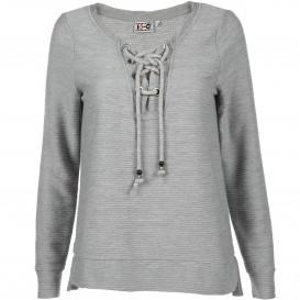 Damen Sweatshirt mit Schnürung