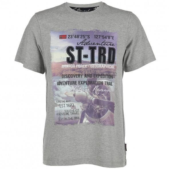 Herren T-Shirt mit aufwendigem Druck