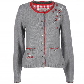 Damen Trachten Cardigan mit Stickerei