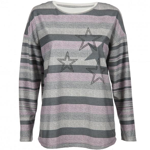 Damen Sweatshirt mit Sternmotiv