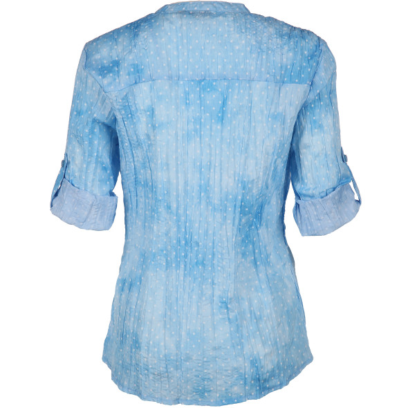 Damen Bluse in Crash Optik