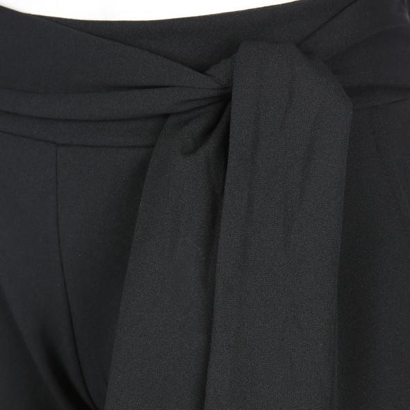 Damen Hose mit Schlaufengürtel