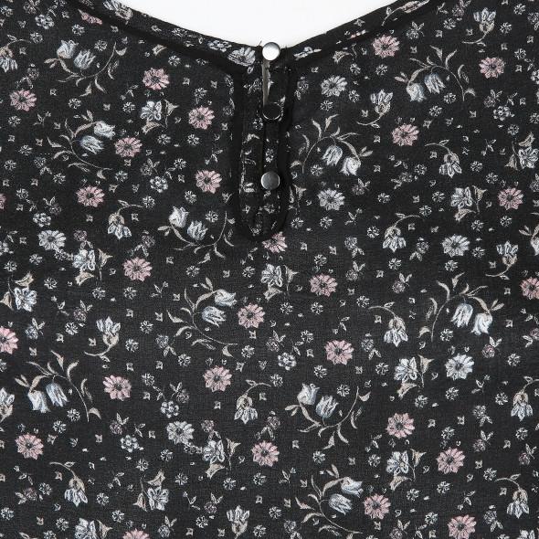 Damen Bluse mit Blumenprint
