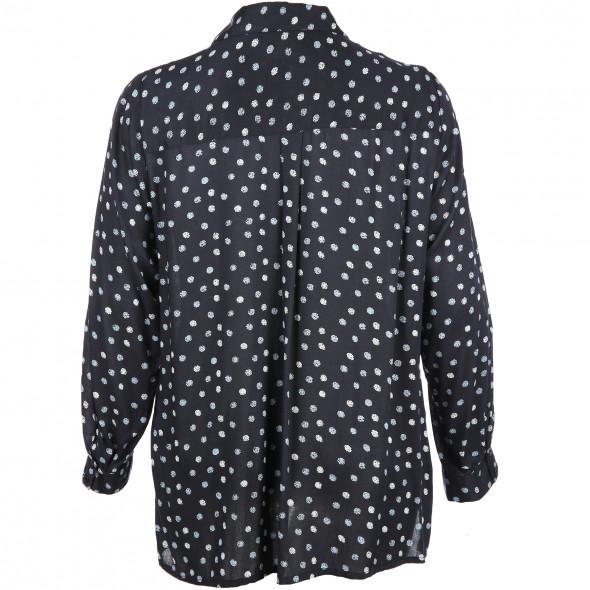 Damen Bluse mit Punkte-Print
