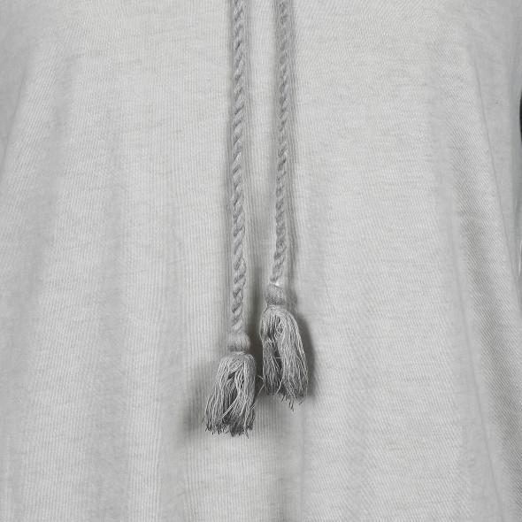 Große Größen Shirt mit Bindekordel