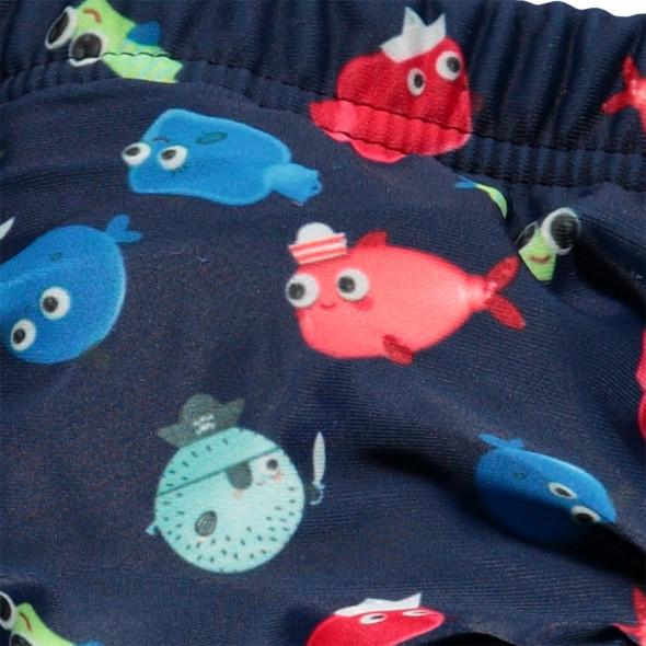 Baby Badehose mit Fische Print