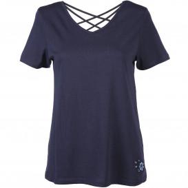 Damen T-Shirt mit hübschem Rückenausschnitt