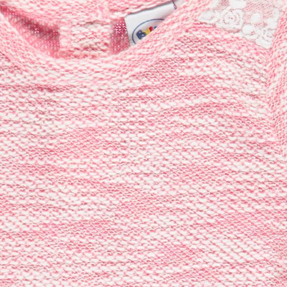 Baby Mädchen Pullover mit Spitze