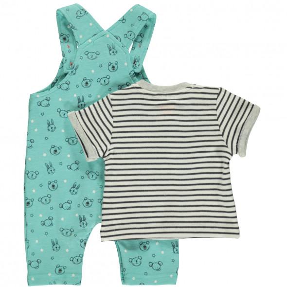 Baby Set bestehend aus Shirt und Latzhose