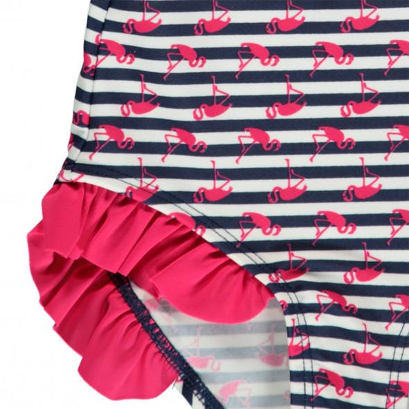 Mädchen Badeanzug mit Streifen