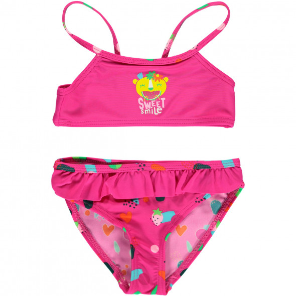 Mädchen Bikini Set mit Rüschchen