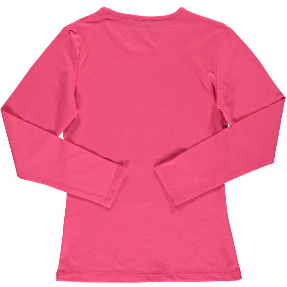 Mädchen Langarmshirt mit Print