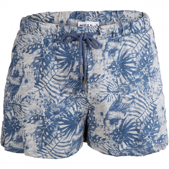 Damen Shorts im Alloverdruck