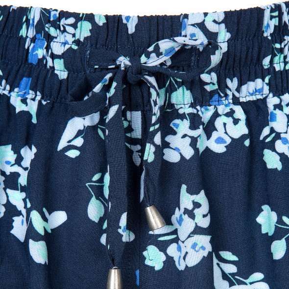 Damen Shorts mit Allover Print