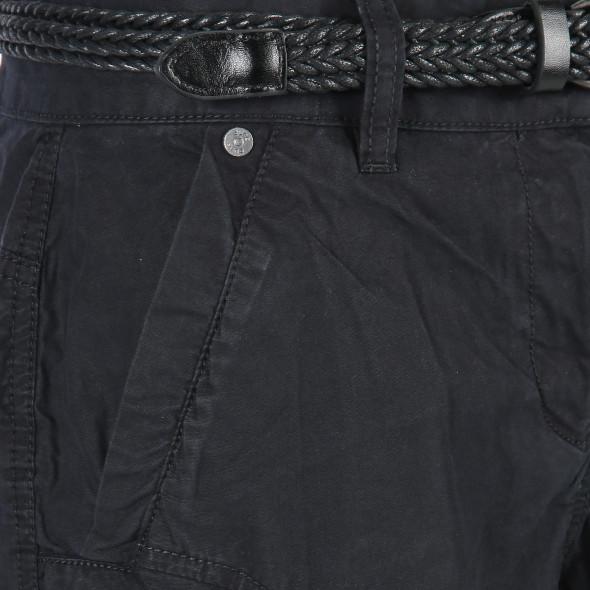 Damen Bermuda Short mit Aufschlag