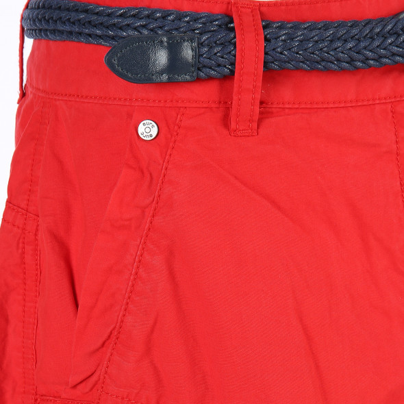 Damen Bermuda Shorts mit Aufschlag