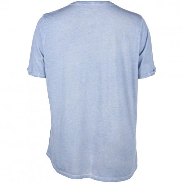 Große Größen T-Shirt mit Frontprint