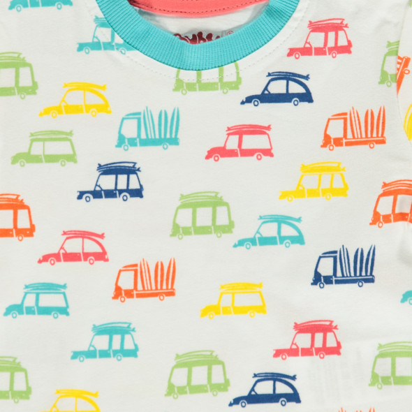 Baby Shirt mit Allover Print