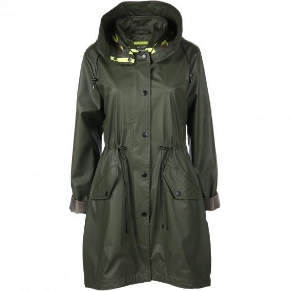 Damen Regenjacke mit abnehmbarer Kapuze