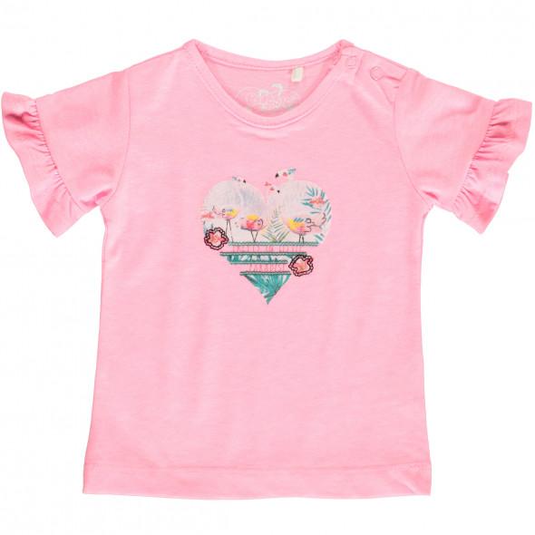Mädchen Shirt mit Pailletten Print