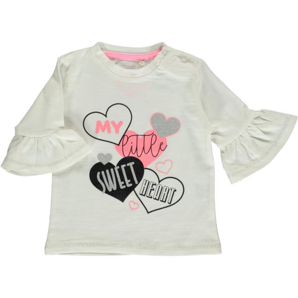 Baby Shirt mit Glitzer Print