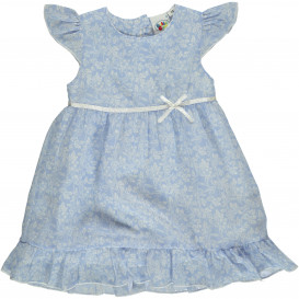 Mädchen Kleid mit Flügelärmeln