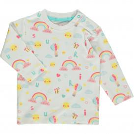 Baby Langarmshirt im niedlichen Design