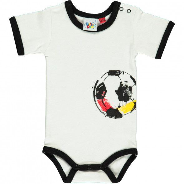 Baby Body mit Fussball Print