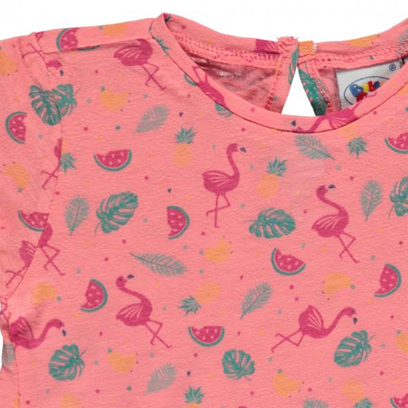 Baby Mädchen Shirt mit Allover Print