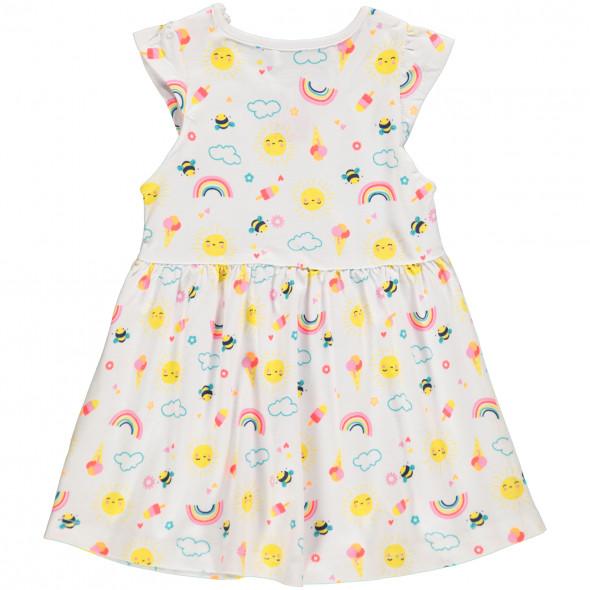 Baby Sommerkleid in farbenfrohem Print