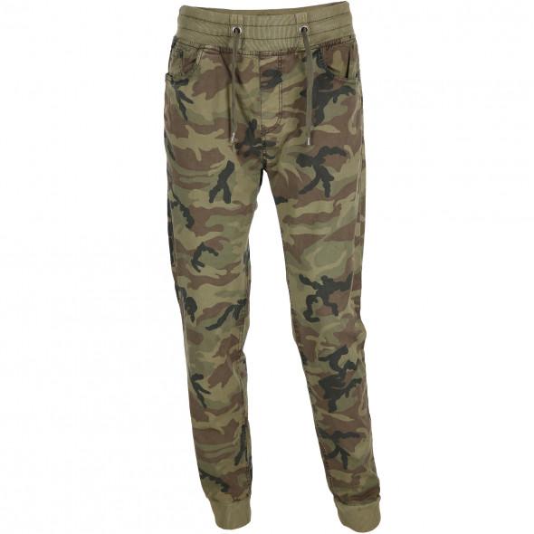 Herren Hose im Camouflage Look